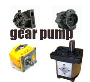 hydraulic pump vane pump gear pump