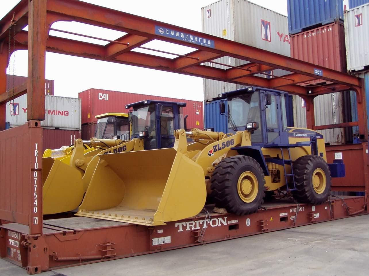 Heavy machinery transport&freight(heavy machinery or construction machinery etc.)