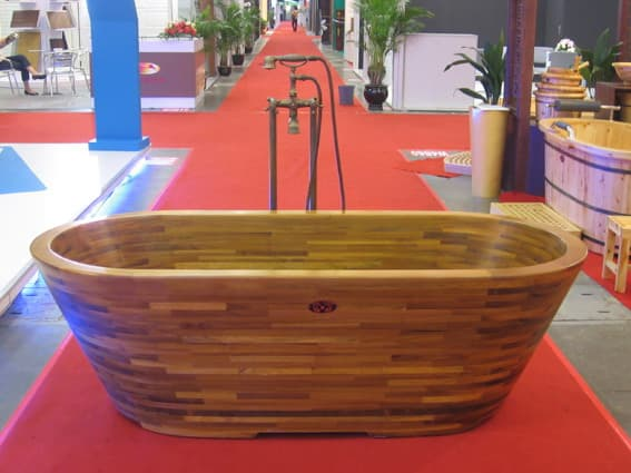 Solid Teak wood bathtubs