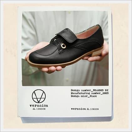Female Shoe -V.W.M.S No.8003 Black