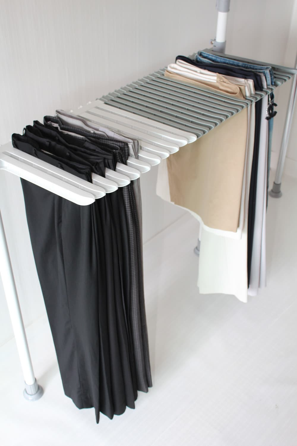 Clipless Pants Hanger Rack Tradekorea