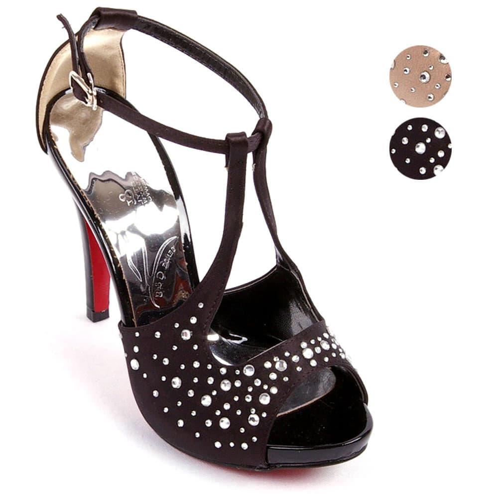 Simple and comfortable! fashion stylish ladies crystal sandal / footwear