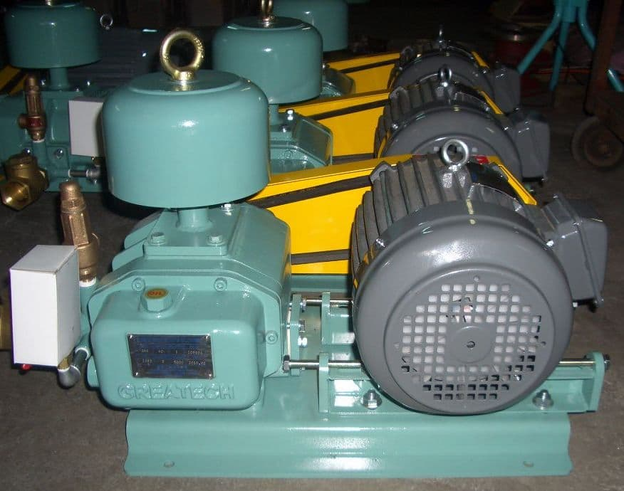 Industrial Vacuum Blower Systems : Greatech roots blower and vacuum system from