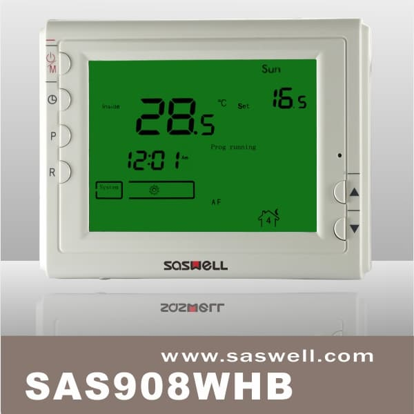 Programmable wireless thermostat with europe from saswell grouphk sas908whbg asfbconference2016 Image collections