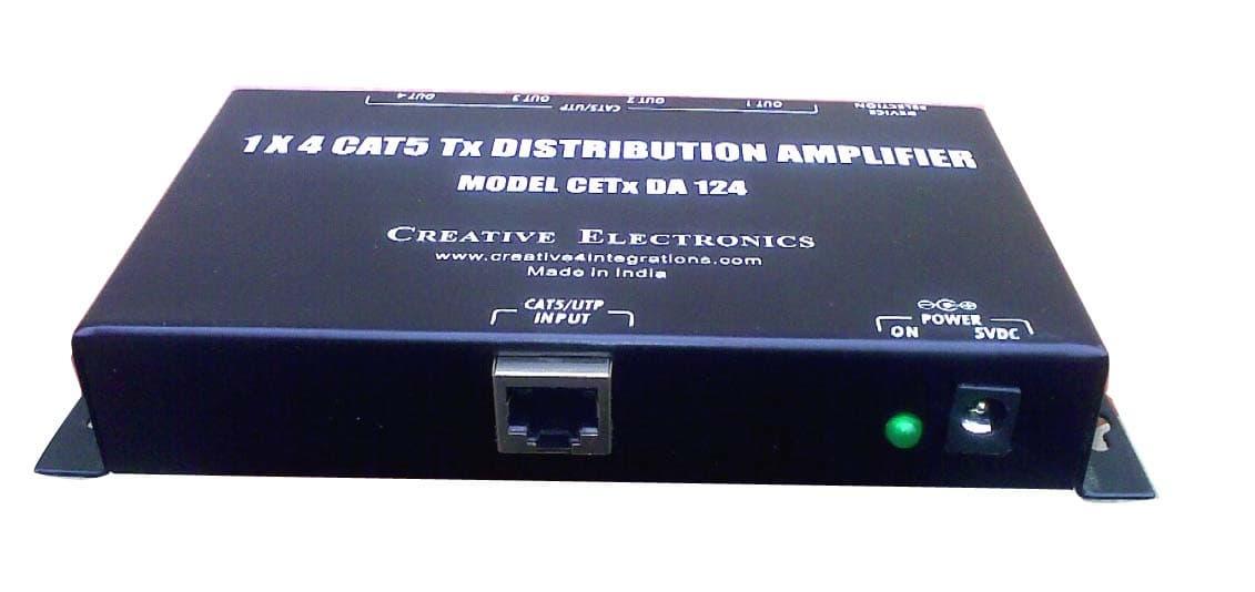 Cat Distribution Amplifier on Wire For Cat 5 Crimp Color Code
