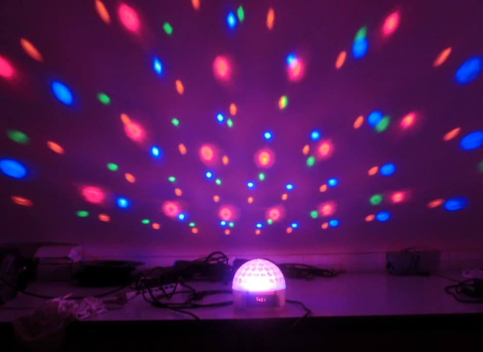Newly Rgbw Disco Light Mini Led Star Ball Light Effect