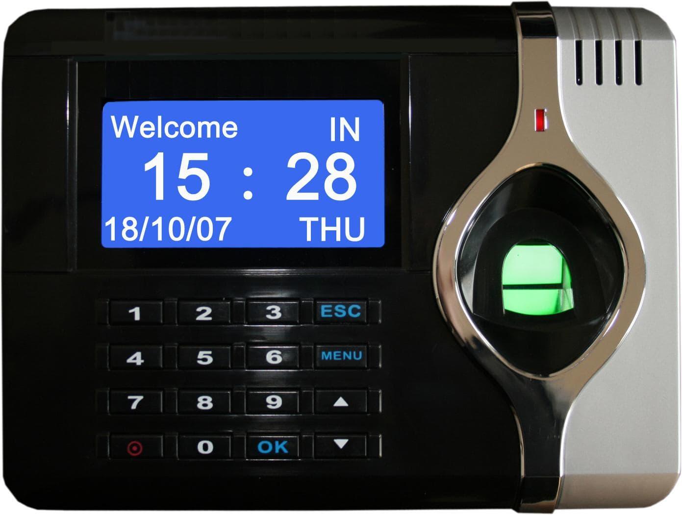 how fingerprint time attendance system works