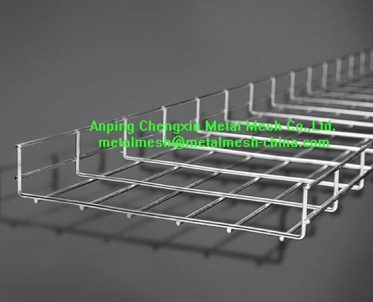 Wire Mesh Cable Tray From Anping Chengxin Metal Mesh Co