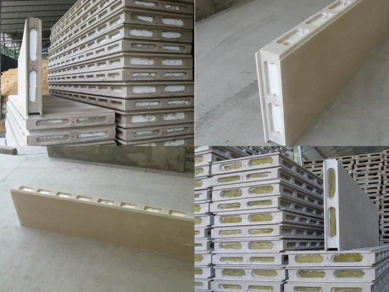Sandwich Fgc Partition Board With Eps For External Wall