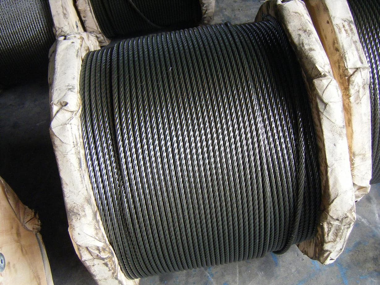 Galvanized steel wire rope , steel wire rope from jiningg shenrunda ...