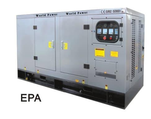 Soundproof Heavy Duty Diesel Generator Set 10kw 30kw