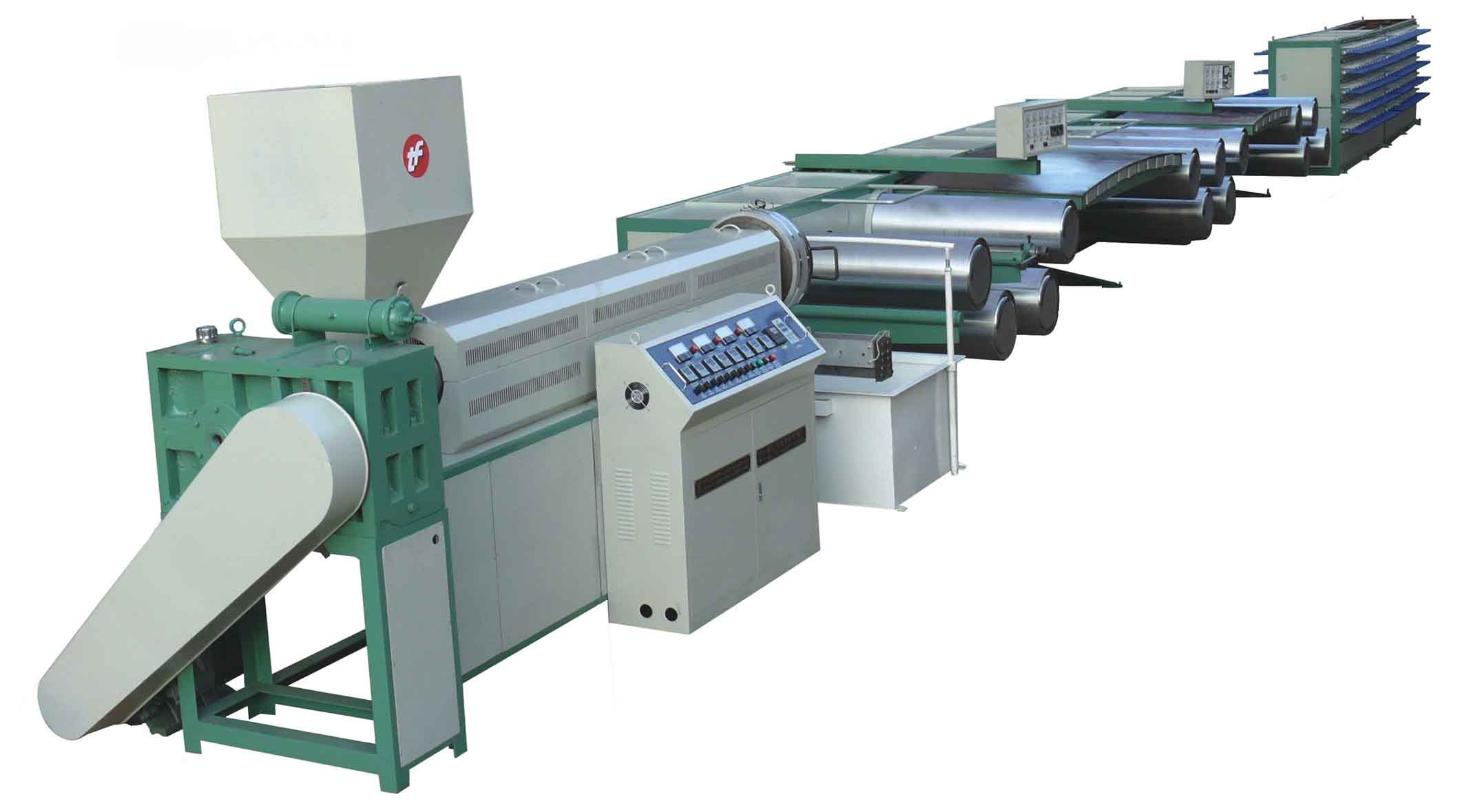 automatic rubber st machine