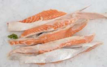 Frozen Salmon Belly Flaps (Salmo salar) from United ...