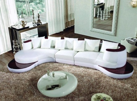 modern leather sofa,Fabric sofa,Coffee table,Furniture from ...