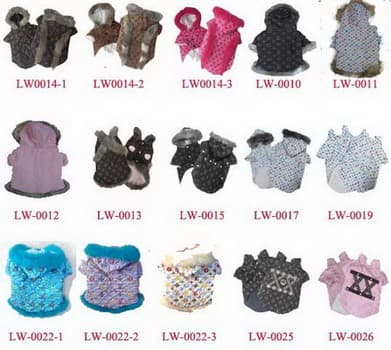 LV DOG CLOTHES