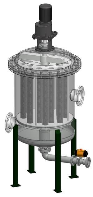 Hef automatic backwashing filter from filad filtration