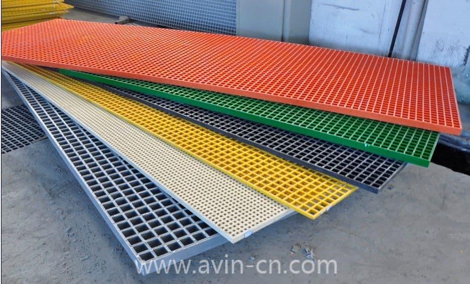 Frp grating from avin new materials co ltd b2b for Plastic building materials