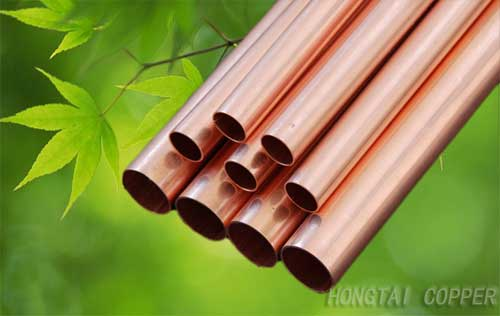 Copper Water Pipe From Qingdao Hongtai International
