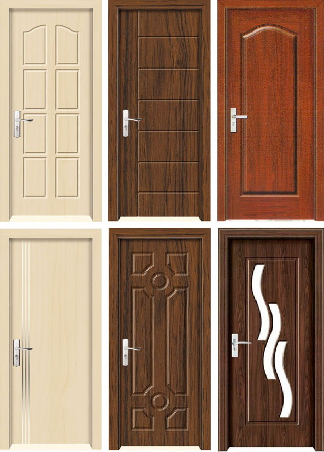 pvc door interior room door from Zhejiang Awesome Door Industry Co