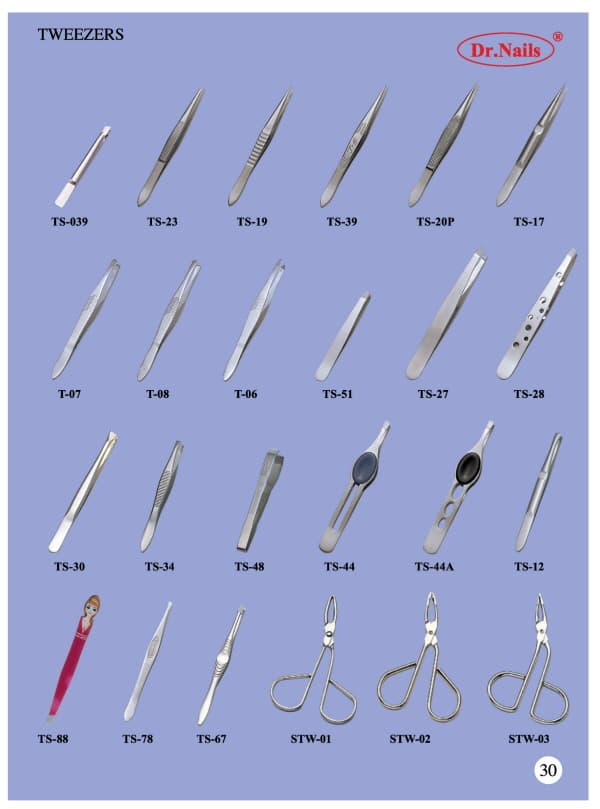 nail tools names - Acur.lunamedia.co