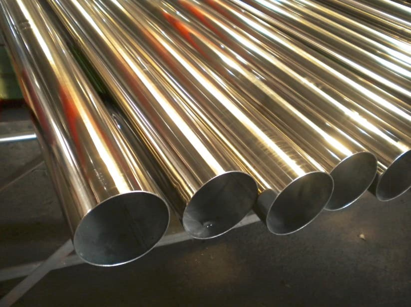 Welded Steel Pipes : Stainless steel welded round pipes tp from