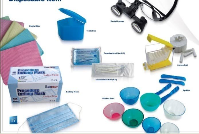 Dental Disposable Items Tradekorea