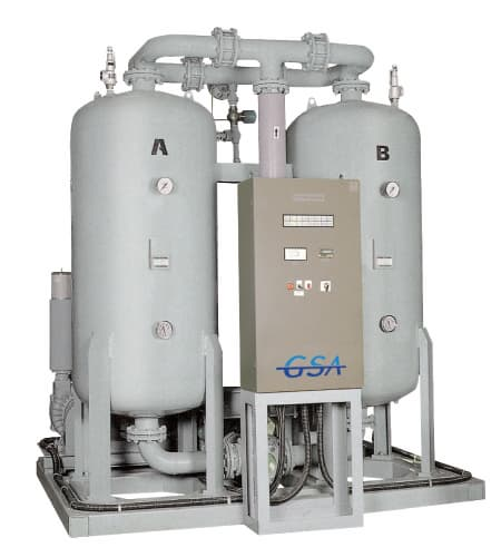 Desiccant Air Dryer Product Thumnail Image Product Thumnail Image Zoom  Desiccant  Air Dryer from GSA. Desiccant Air Drying