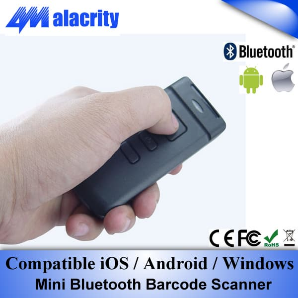 Mini Bluetooth Barcode Scanner For Android,iOS,Windows