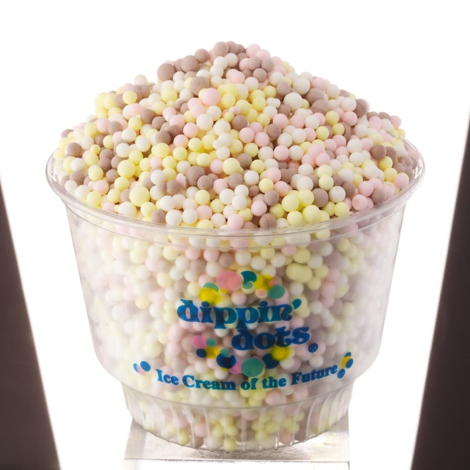 dippin dots Enjoy a unique, futuristic way to eat ice cream with dippin' dots at michigan's  adventure.