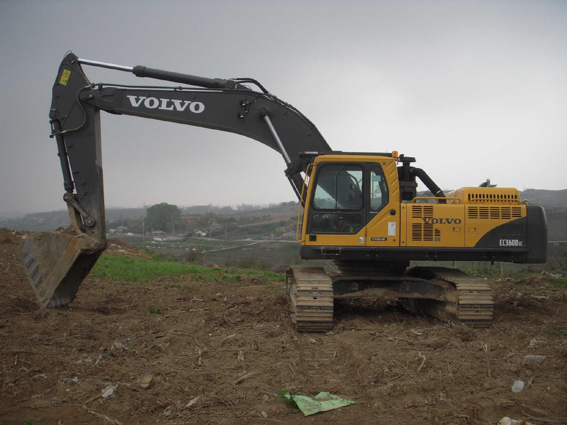 Volvo excavators bbt com