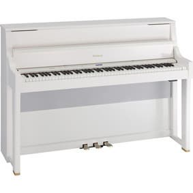 roland lx 15pw upright digital piano polished white tradekorea. Black Bedroom Furniture Sets. Home Design Ideas