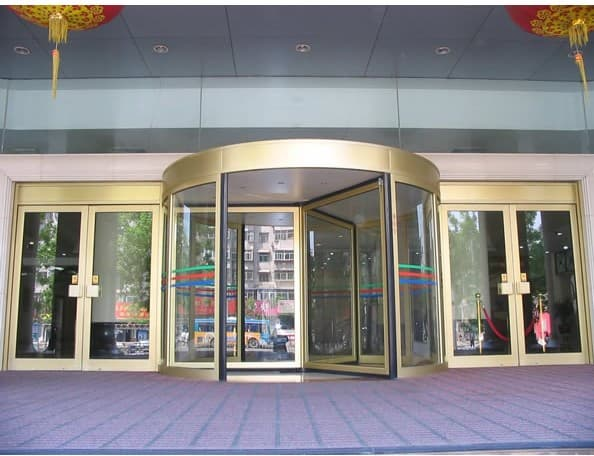Supply automatic revolving door wings from guangzhou cn