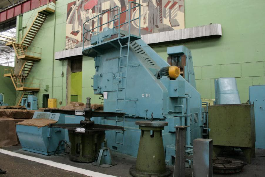Gear shaping machine Schiess RS25S, module 15, workpiece diameter 3700 mm