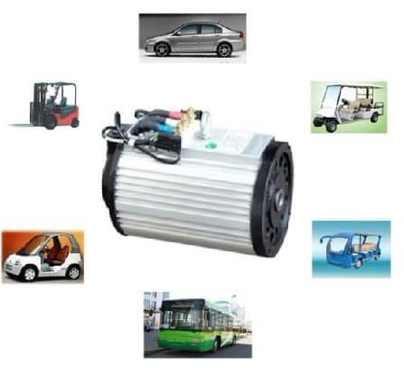Electric vehicle traction motor to 27kw from foshan for Electric car motor manufacturers