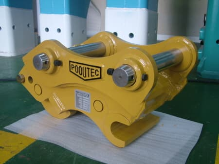manual quick coupler for excavator