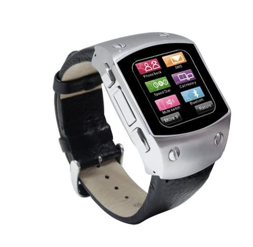 waterproof watch mobile phone with high definition touch