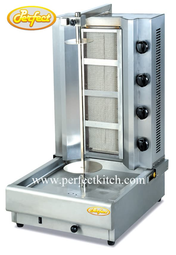 Gas doner kebab machine from guangzhou perfect kitchen for Perfect kitchen equipment