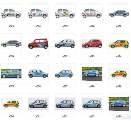 Car Vinyl Graphicsvinyl Sticker For Car From Guangzhou Oka - Graphics for car