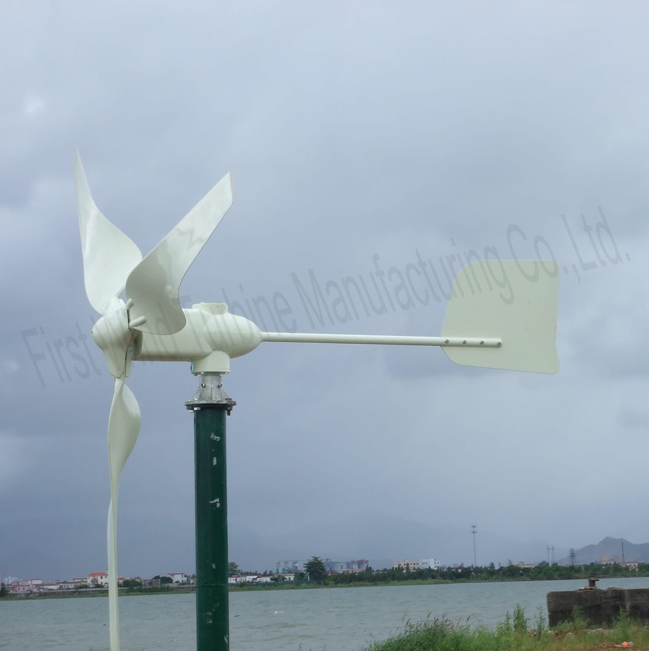 Mini Wind Turbine WK 750 from First Wind Turbine Manufacturing