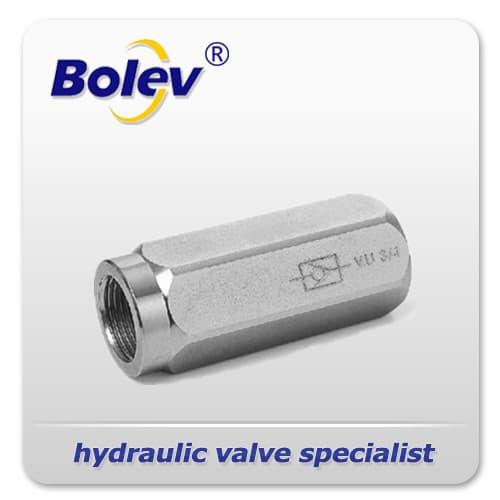 Bar vu hydraulic check valves from bolev hydraulics co