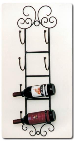 wrought iron wine racks 2