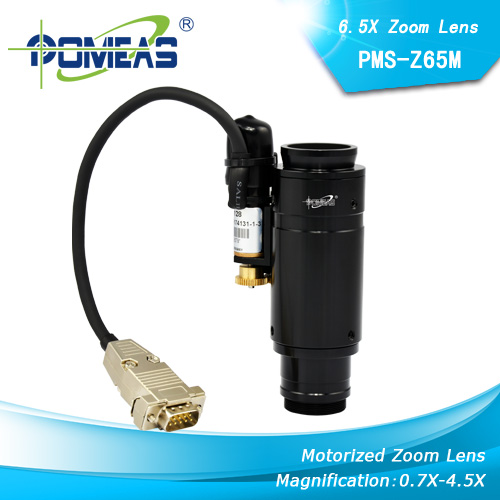 Motorized Zoom Lens Zoom Lens Machine Vision Lens From Pomeas Optical Technology Company