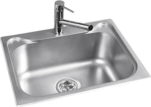 Metal kitchen sink