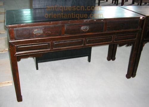 Antique side table buffet chinese antique furniture for South asian furniture