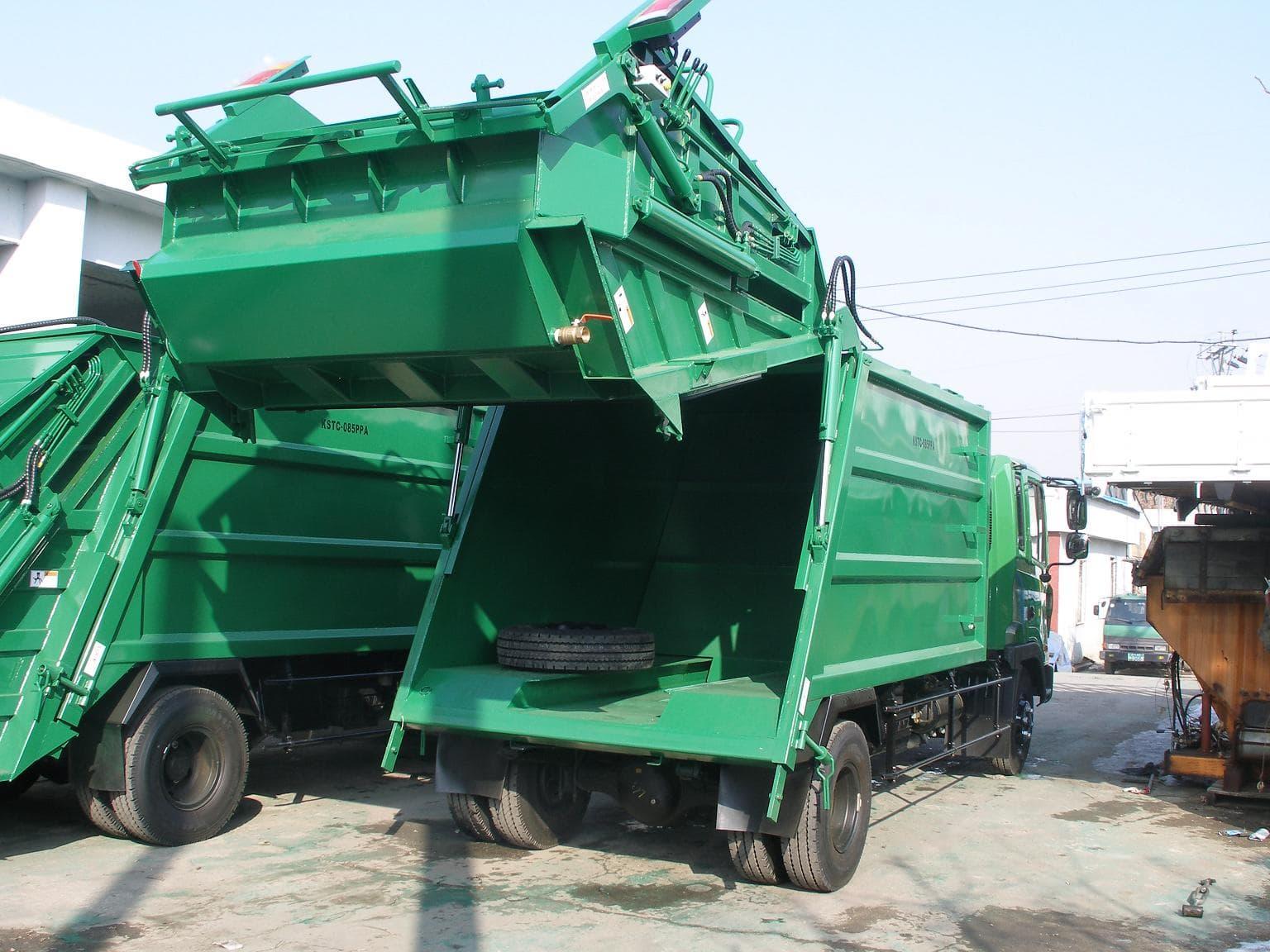 Garbage Compactor Truck Tradekorea