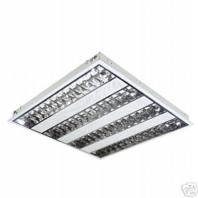 recessed modular fluorescent fitting t5 t8 grid lamp. Black Bedroom Furniture Sets. Home Design Ideas