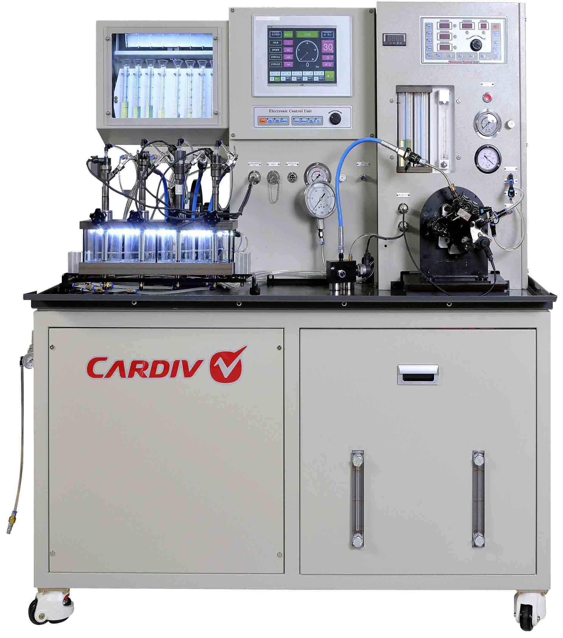 Common rail injector and pump testing equipment