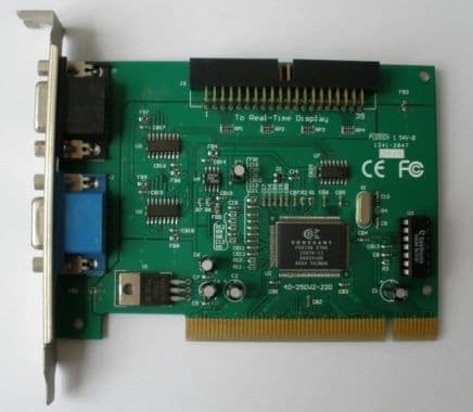 Trading system video card