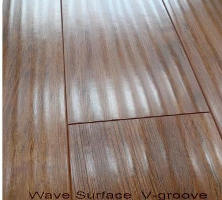 Laminate flooring v groove from jining sunny wood co ltd for V groove laminate flooring
