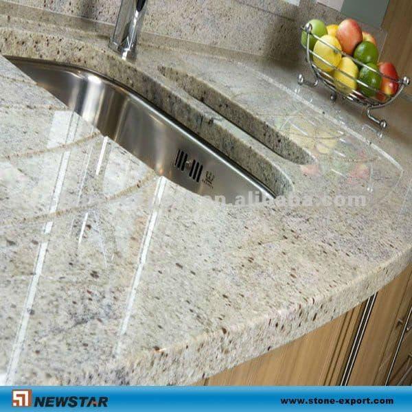 River White Granite Bathroom: River White Granite Countertop